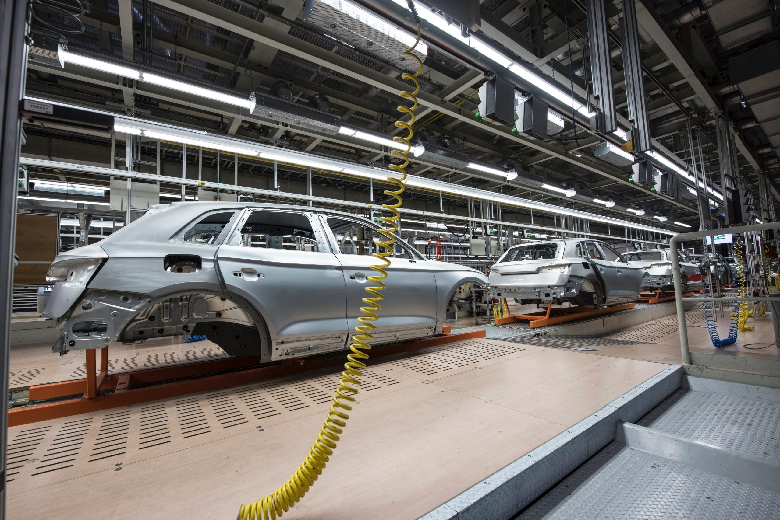 Car manufacturing facility usa